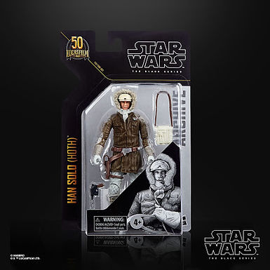 Black Series Archive Collection Han Solo (Hoth)