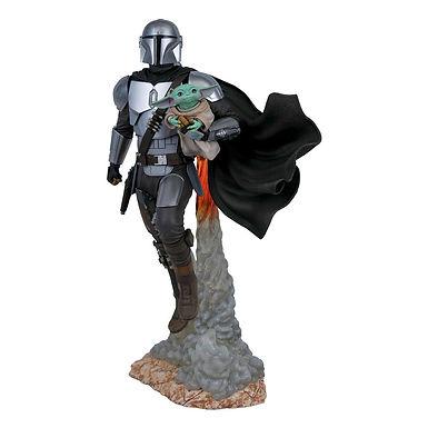 Star Wars The Mandalorian Milestones Statue 1/6 The Mandalorian/The Child 41 cm