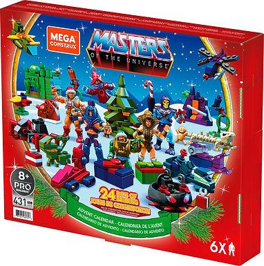 Masters of the Universe Mega Construx Probuilders Advent Calendar 2021