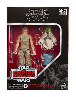 Star Wars Black Series Action Figure 2-Pack Luke Skywalker and Yoda