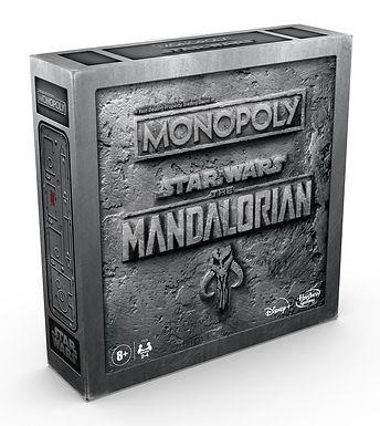 Star Wars Board Game Monopoly The Mandalorian