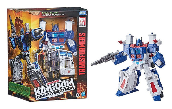 Transformers Generations War for Cybertron: Kingdom Leader Ultra Magnus