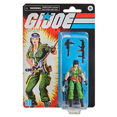 G.I. Joe Retro Collection Series Action Figure Lady Jaye