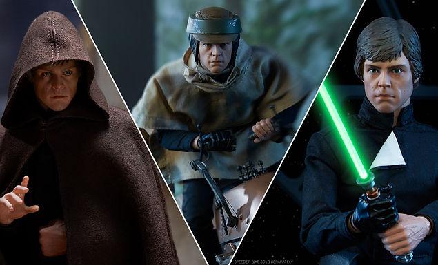 Sideshow 1:6 Luke Skywalker Deluxe