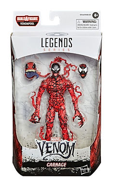Venom Marvel Legends Series Action Figure 2020 Carnage 15 cm