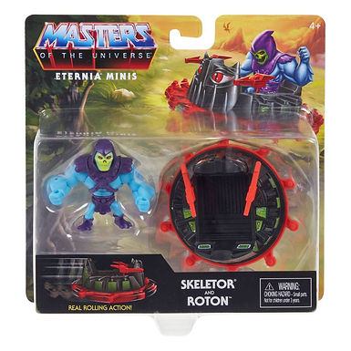Masters of the Universe Eternia Minis Skeletor & Roton