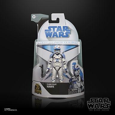 Star Wars Black Series Clone Wars Clone Pilot Hawk