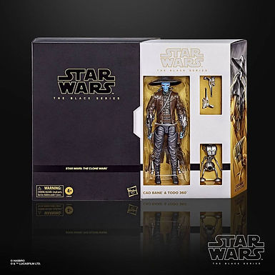 Star Wars The Clone Wars Black Series Action Figure Cad Bane/Todo 360 Exclusive