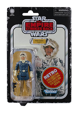 Star Wars Episode V Retro Collection Action Figure Han Solo (Hoth)