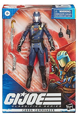 G.I. Joe Classified Series Wave 2 Action Figure Cobra Commander