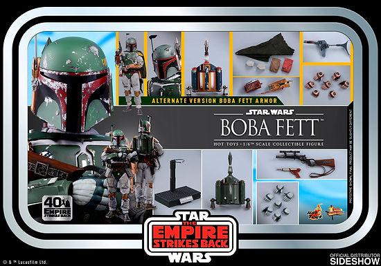 Hot Toys 1:6 Boba Fett - Star Wars: The Empire Strikes Back