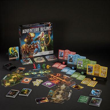 Dungeons & Dragons Board Game Adventure Begins