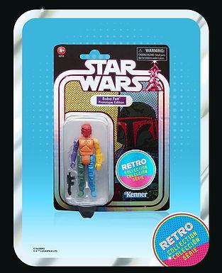 tar Wars The Retro Collection - Boba Fett Prototype Edition