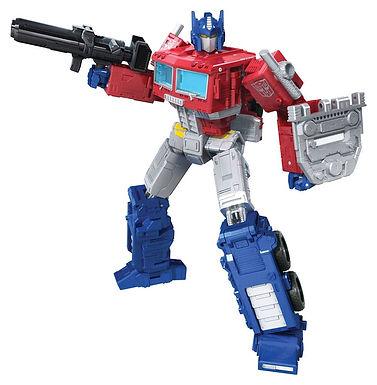 Transformers Generations War for Cybertron: Kingdom Leader 2021 Optimus Prime