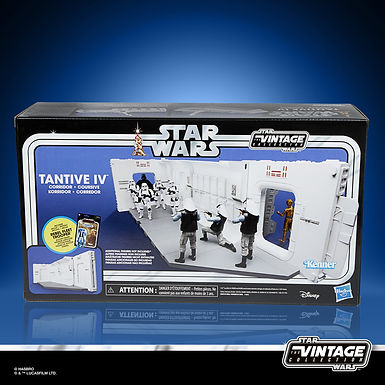 Star Wars Vintage Collection Tantive IV Hallway with Rebel Fleet Trooper
