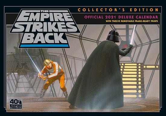Star Wars Classic Deluxe A3 Calendar 2021