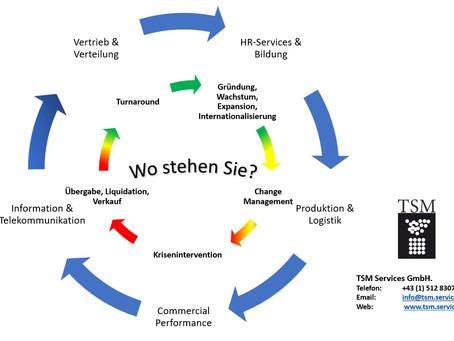 Unternehmerischen Lebenszyklus managen in fordernden Zeiten.