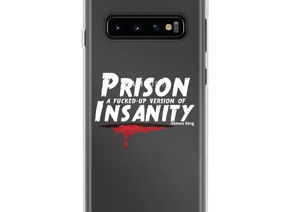 Samsung Case White Print