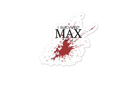 Your MAX Sticker