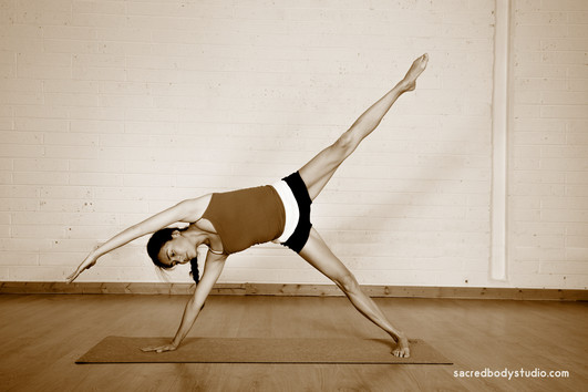 Modified Side Bend Pose