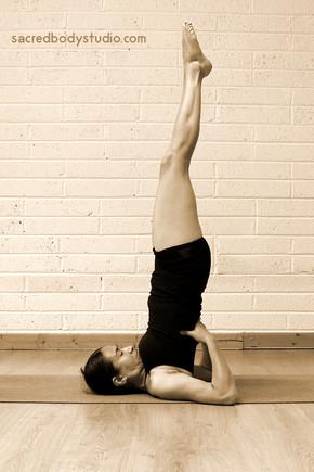 Shoulderstand Pose