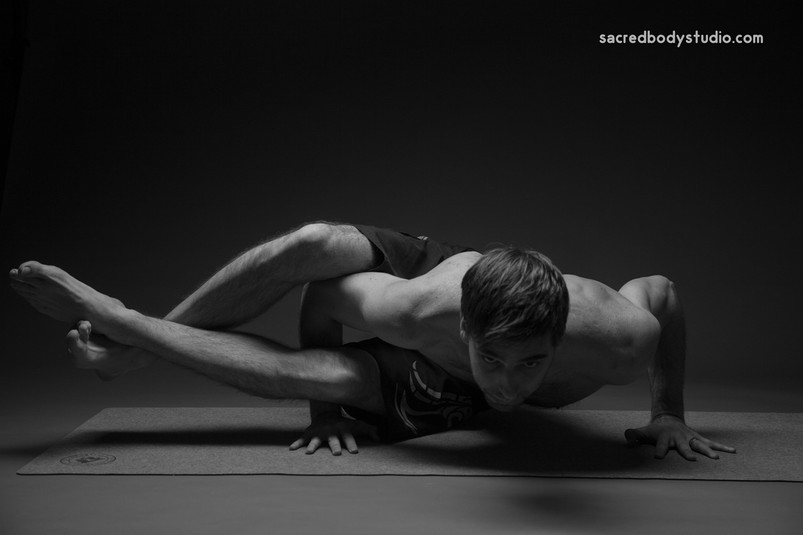 Eight Bend Pose