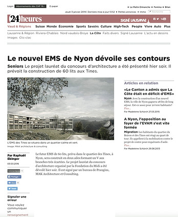 Ems des Tines - 24 Heures