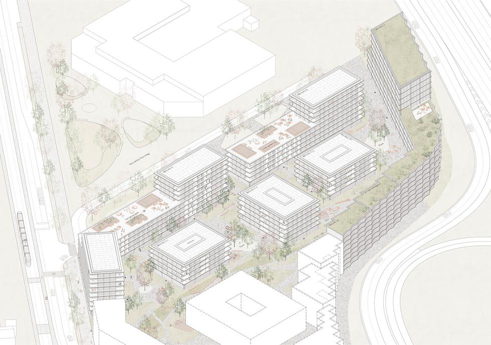 Quartier Veillon Bussigny 1er Prix - 2020