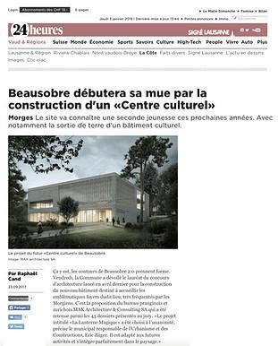 24 Heures - Beausobre