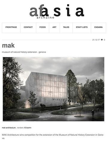 Musée d'histoire naturelle -  AFASIA