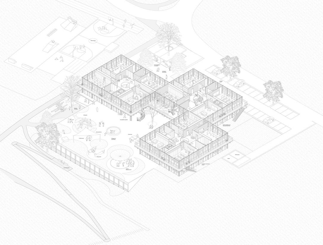 Schule Eglisau 1. Preis - 2020