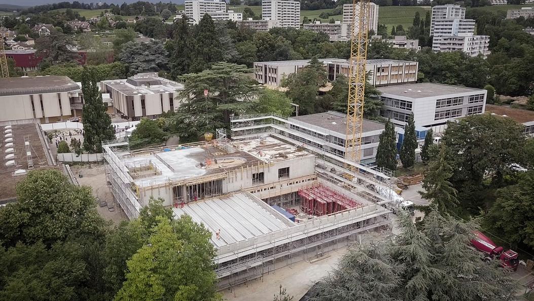 Foyers de Beausobre, Morges chantier - 2020