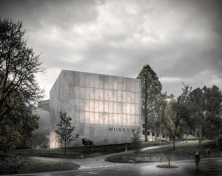 Museum d'histoire naturelle Genève 1er prix  -  2017