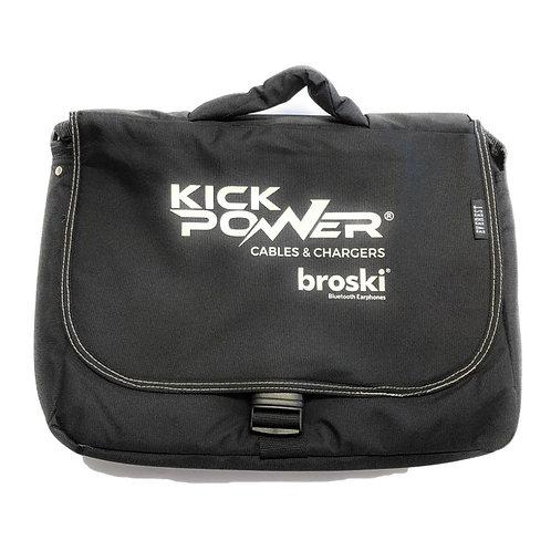KickPOWER Official Messenger Bag