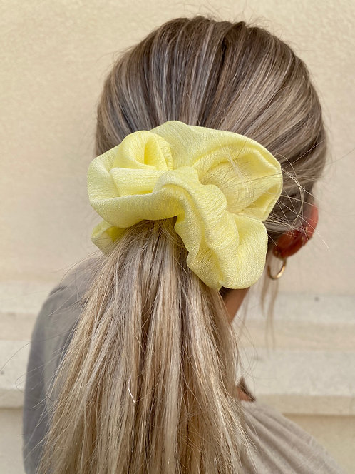 MIRROR BALL LARGE SCRUNCHIES (2 colors)