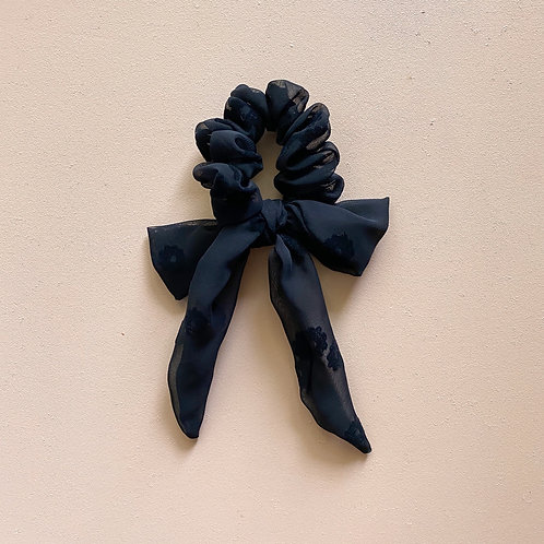 HAVE A COZY DAY SCRUNCHIE BOW