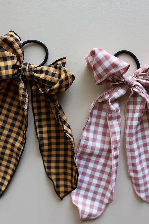 BACK TICKLES SCARF BOWS ( 2 COLORS )