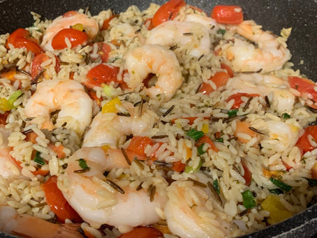 Shrimp & Wild Rice