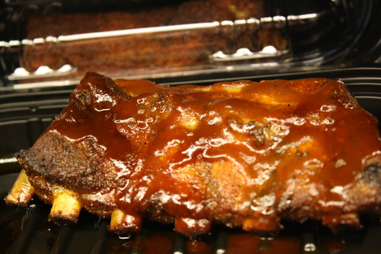 Pork Ribs with Barbeque Sauce