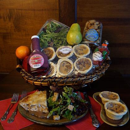 Turkey Pie Dinner Basket