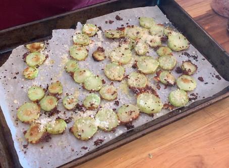 Parmesan Broccoli Stems