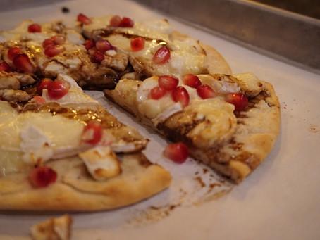 Brie & Pomegranate Pizza