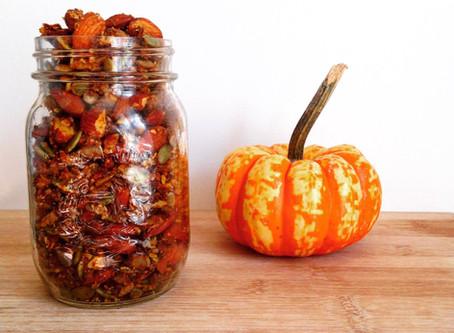 Gluten Free Pumpkin Granola