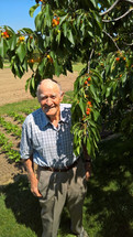 Opa With his Cherry Tree