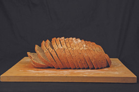 Whole Wheat With Flax Brick Bread