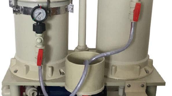Filtro 19,000 L/hora camara Doble para C.Activado