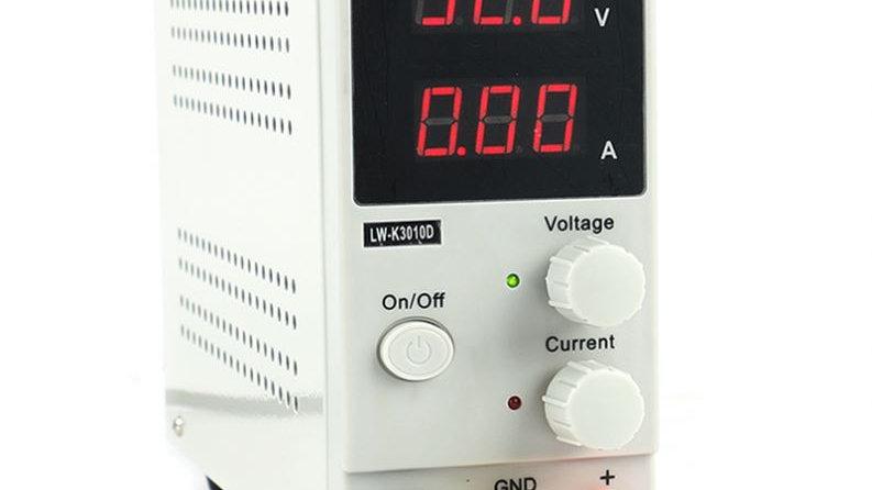 Rectificador de Corriente Laboratorio 10 Amperes 30 Volts