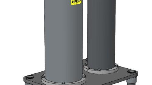 Filtro Serfilco 5,700 L/Hora de filtración