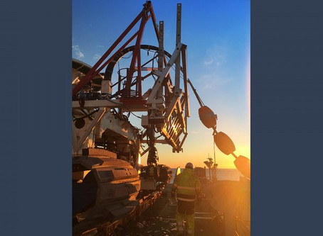 Pharos Offshore supports Jan de Nul Group in Trenching activities.