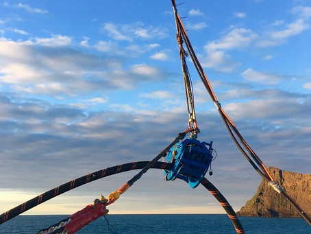 Pharos Offshore's Cable Recovery Spread Completes New Scopes
